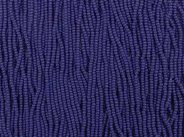 blue seed 10 0 seed beads opaque navy blue
