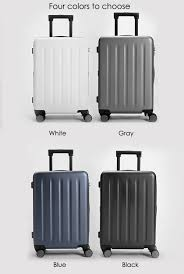 Indiana Traveling Suitcase images Xiaomi travel suitcase 20 24 inch 90 minutes spinner wheel jpg