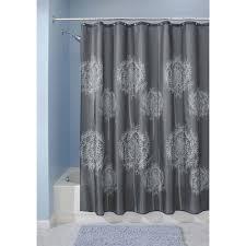 Interdesign Bathroom Accessories by Interdesign Dandelion Fabric Shower Curtain Walmart Com