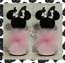 minnie mouse center pieces minnie mouse centerpieces minnie mouse by glittermagicparty on