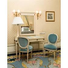 bureau de change 75016 bureau 76x120x65 cm miroir 107x80 cm deux fauteuils 94x