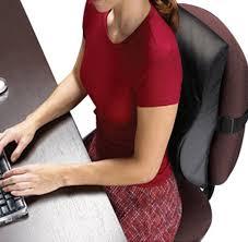 contour lumbar cervical back cushion relax the back