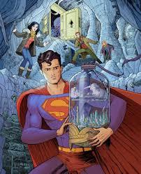 superman bottle kandor colour alexander serra art