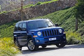 Wallpapers Jeep 2007 10 Patriot Limited Blue Automobile