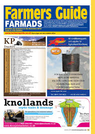 farmers guide classified section october 2013 by farmers guide
