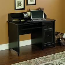 amazon com sauder edge water computer desk estate black finish