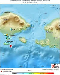 earthquake bali 2017 bali hit by earthquake with magnitude of 6 4 shaking homes daily