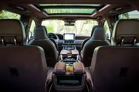 Lincoln Navigator 2015 Interior Long Wheelbase 2018 Lincoln Navigator Offers Extra 15 Cubic Feet