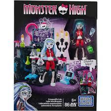 mega bloks monster high creeperific lab ghoulia walmart com