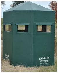 Plastic Deer Blinds Dillon Manufacturing Hunting Products