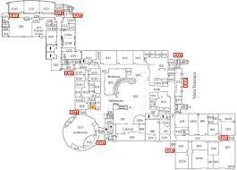 Map Rhode Island Liston Campus First Floor U2013 Community College Of Rhode Island
