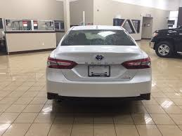 new 2018 toyota camry xle hybrid 4 door car in sherwood park ab