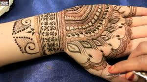 intricate peacock feather beautiful henna mehndi designs tattoo
