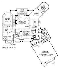House Plans With Breezeway One Story Floor Plans With Basements