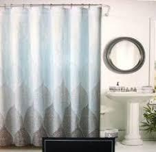 Target Paisley Shower Curtain - kassatex paisley shower curtain blue grey blue grey target