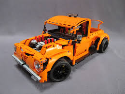lego porsche minifig scale lego ideas rod pick up truck