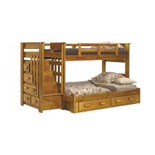 Stairs For Bunk Bed by Amazon Com Chelsea Home Furniture 36500 S Twin Over Full Bunk Bed