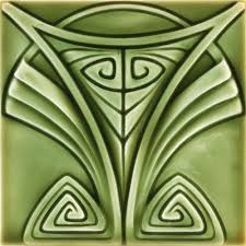 Art Deco Tile Designs Treadway Toomey Galleries Lots 401 Thru 450