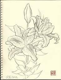 Cheap Home Decor Fabric by Pencil Art Photo Flower Sketches Loversiq