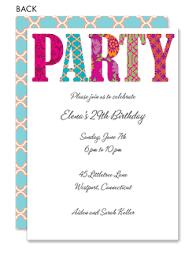 party invitations birthday party invitations customizable birthday invitations