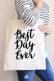 best wedding shower gifts tote bag best day wedding party gift gift for or