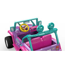 jeep toy fisher price power wheels nickelodeon shimmer and shine jeep