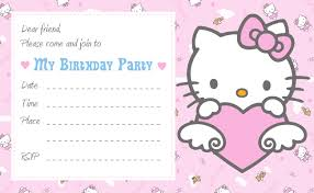 hello kitty printable birthday invitations vertabox com