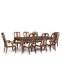 Queen Anne Dining Room Furniture by Bordeaux 9 Piece Dining Room Furniture Set Created For Macy U0027s