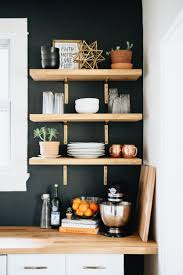 Kitchen Open Shelves Ideas by Best 25 Minimalist Shelving Ideas On Pinterest String System
