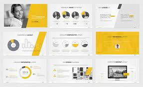 Powerpoint Template On Behance Ppt Tempelate
