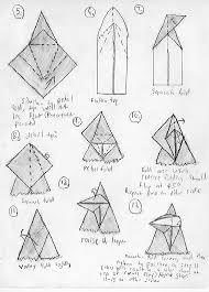 Easy Origami Peacock - free origami diagrams learn how to make origami
