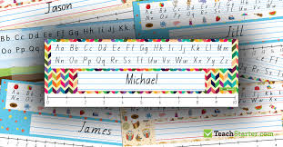 Custom Desk Plates Tutorial Creating Custom Desk Plates On Teach Starter Teach