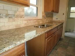 kitchen countertop backsplash ideas kitchen backsplash ideas with santa cecilia granite kitchen