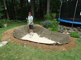 how to create a backyard pond u2013 step by step the soulful gardener