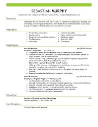 aviation resume exles aircraft mechanic sle resume shalomhouse us
