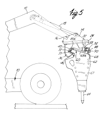 patent us6499934 implement attachment bracket for skid steer