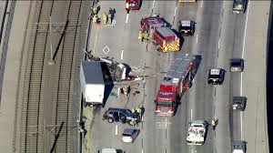 210 Freeway Map Fatal 5 Vehicle Crash Shuts Down Eastbound 210 Freeway In Pasadena