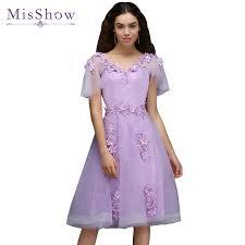 aliexpress com buy prom dresses short dresses lilac short prom