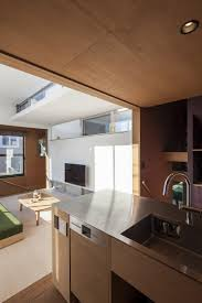 a split level small house in tokyo for a young couple
