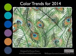 home furnishing trends for 2014 flying with peacock colors a