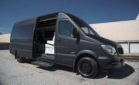 luxury mercedes sprinter high roof executive coach custom interior mercedes benz sprinter