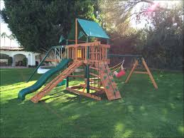 exteriors fabulous backyard swing sets costco rainbow swing sets