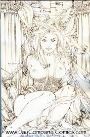 grimm fairy tales 19 rapunzel virgin sketch variant comic