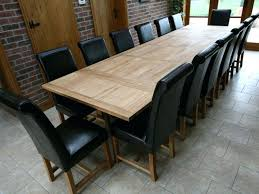 extra long dining table seats 12 adorable large round extending dining table tables astounding solid