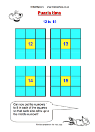 free maths puzzles mathsphere