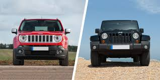 red jeep renegade 2016 jeep renegade vs wrangler which is best carwow