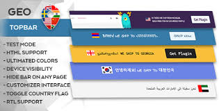 Top Bar Geo Top Bar By Mypreview Codecanyon
