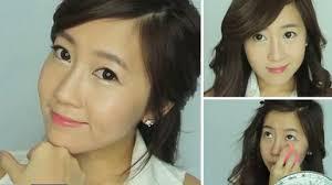 tutorial make up natural untuk kulit coklat herbeauty masker tutorial make up ala korea yang cantik dan imut