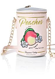 betsey johnson ain u0027t she a peach crossbody bag dolls kill