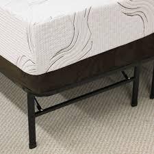 Bedroom Furniture Manufacturer Ratings Modern Sleep Platform Metal Bed Frame Mattress Foundation